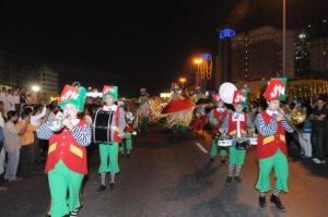 Carnival Parade at Dubai shopping Festival