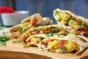 Quesadillas - Vegetarian Food Items of Dubai