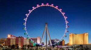 High Roller Ferris Wheel - Honeymoon Destinations in Las Vegas