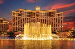 The Bellagio Hotel & Casino - Honeymoon Destinations in Las Vegas