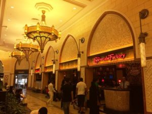 Cheesecake factory at Dubai Mall - Places to Visit in Dubai