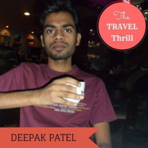 DEEPAK PATEL - INDIAN TRAVEL BLOGGERS