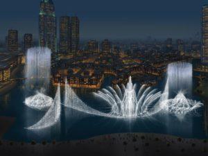 Fountain Show @ Dubai Mall - Places to Visit in Dubai