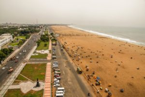 Marina Beach -Best places to visit in Chennai