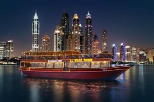 Marina Cruise Dinner with performance - Places to Visit in Dubai