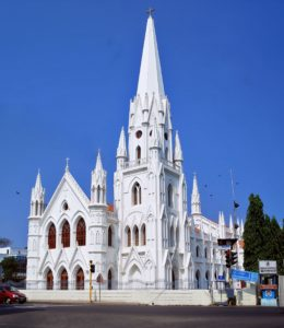 Santhome Cathedral - Best Tourist places in Chennai