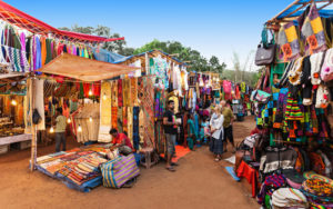 Anjuna Flea Market in Goa - Fun Things To Do in Goa
