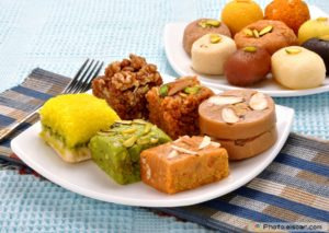 Dry Sweets - Indian food to carry while traveling abroad
