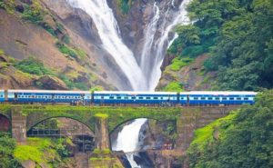 Dudhsagar Falls in Goa - Fun Things To Do in Goa