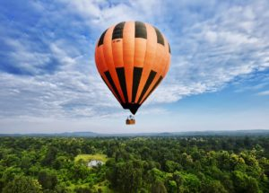 Hot Air Balloon in Goa - fun things to do in Goa