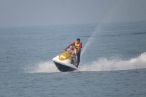 Kayaking and speed boat experience at Baina Beach - Fun Things To Do in Goa