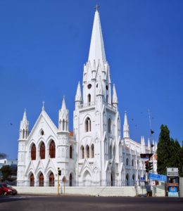 Santhome Cathedral Church - Famous Churches in Chennai for Photography