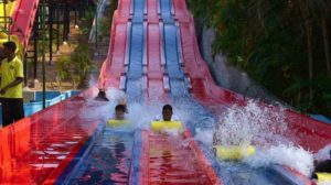 Float slide - water sports in chennai