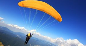 Paragliding - water sports in chennai