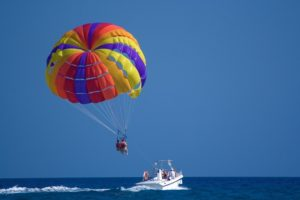 Parasailing - water sports in chennai