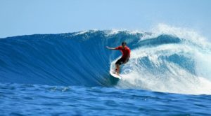 Surfing - water sports in chennai