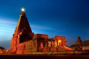 Brihadeeswarar Temple, Thanjavur -Unesco world heritage sites in Tamilnadu