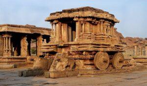 Monuments in Hampi Karnataka - world heritage sites in Tamilnadu