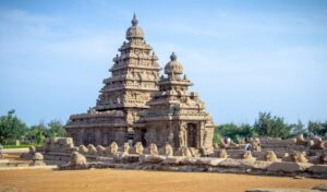 Monuments in Mahabalipuram - world heritage sites in Tamilnadu
