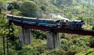 Nilgiri Mountain Railway - world heritage sites in Tamilnadu