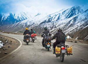 Bike Ride in Leh Ladakh