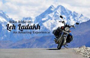 Bike Ride in Leh Ladakh - Gulshan