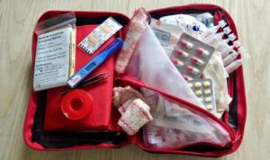 Medical Kit to carry whille Bike Ride in Leh Ladakh