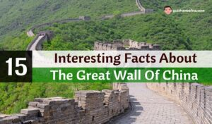 15 Interesting Facts About The Great Wall Of China