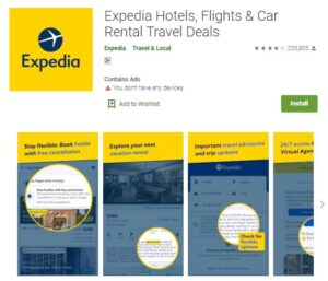Expedia - Flight and Hotel Booking Apps