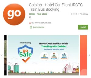 Goibibo - Flight and Hotel Booking Apps
