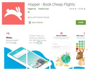 Hopper - Flight and Hotel Booking Apps