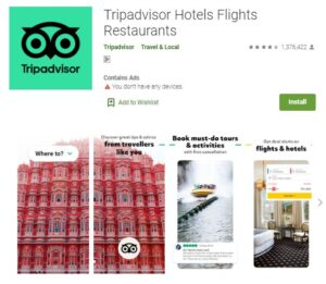 TripAdvisor - Flight and Hotel Booking Apps