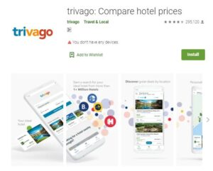 Trivago - Best Travel Booking Apps