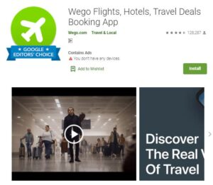 Wego - Best Travel Booking Apps