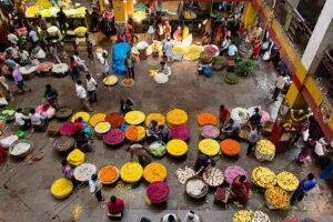 Krishna Rajan Market - Best Places to Visit in Bangalore