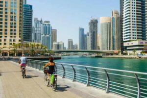 Walk on the Marina Walk - Things To Do in Dubai