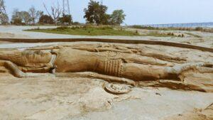 Anantashayana Vishnu, Dhenkanal - Temples in Bhubaneswar
