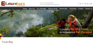 LeisureTourIndia - Best Travel Bloggers in Kerala