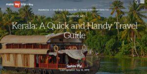 MakeMyTrip Kerala Travel Guide - Best Travel Bloggers in Kerala