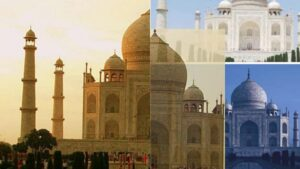 Changes color - Interesting Unknown Facts About Taj Mahal