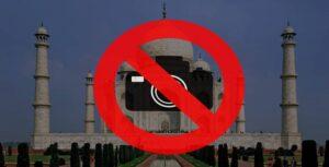 Photography not allowed - Taj Mahal Fun Facts