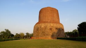 Dhamek Stupa - Best Places To Visit in Varanasi For Couples